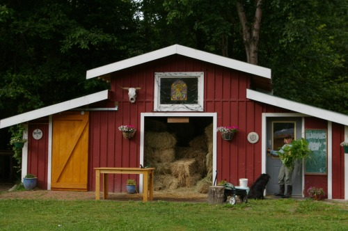 Once I had my 'Big Red Barn' I felt more like a 'real' farmer!