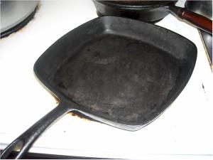 Grandma's Cornbread Pan