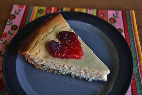 Ricotta Cheesecake Pie Recipe — Dishmaps