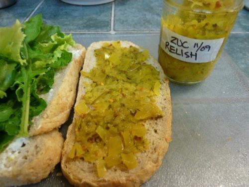 Zucchini Relish 2