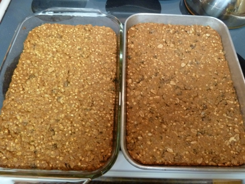 Granola Bars - done