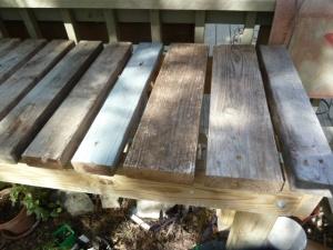 Using scrap lumber