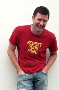 Adam Hills, a man that knows who is holding the wooden spoon