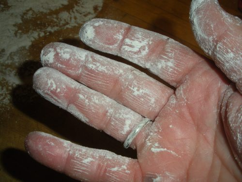 Flour- hand