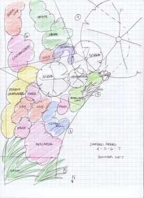 Garden map area 4-7